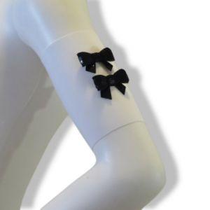 Bow tie arm bands (WT BK)