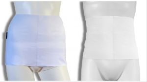 Fajas de COMPRESIÓN Para Ostomia: Blanco