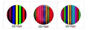Cubierta Adhesiva Tris: Rainbow
