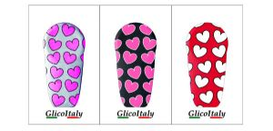 Tris Adhesive Cover G6®: Hearts