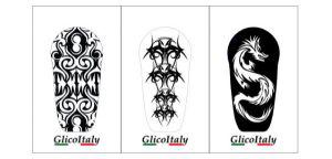 Cubierta adhesiva Tris G6®: Tattoo
