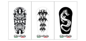 Tris Adhesive Cover G6®: Tattoo