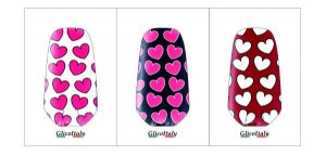 Tris Adhesive Cover G5®, G4®: Hearts