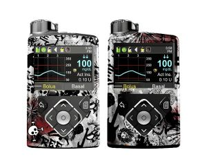 Cubiertas graffiti compatibles con Medtronic 670g® 640g®