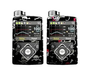 Cubierta piratas compatibles con el Medtronic 670g® 640g®