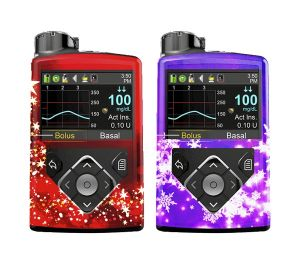 """Cubiertas """"Christmas 2"""" compatibles con Medtronic 670g® 640g®"""