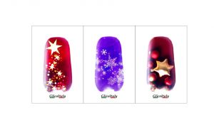 Adhesive cover: Christmas 2