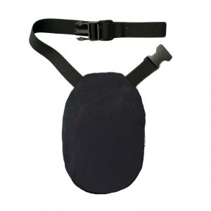 Pouch Cover with Belt: Black