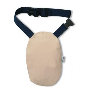 Pouch Cover with Belt: Beige