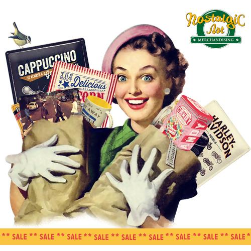 Nostalgic Art Promo e Spring Sale