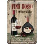 Cartello Vino Rosso