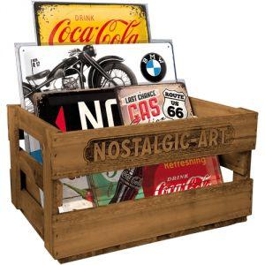 Cassetta di legno Nostalgic Art