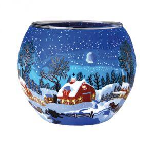 XXL821 Lampada 30 cm - Inverno con luna
