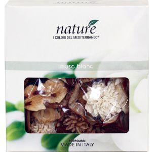 Confezione di potpourri Muschio Bianco, 100 grammi