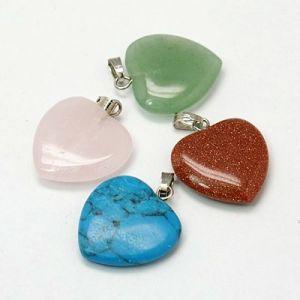 Ciondoli cuore in pietra