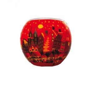 XL489 Città Rossa - Portalumino 15 cm