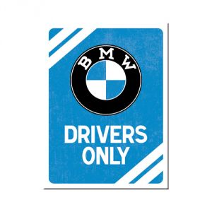 BMW - Drivers Only Blue