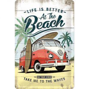 VW Bulli - Beach