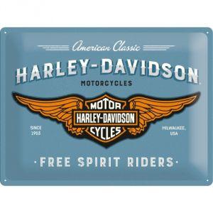 23244 Harley-Davidson - Logo Blue