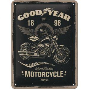 Cartello Goodyear - Motorcycle