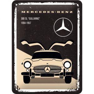 Cartello Mercedes-Benz - 300 SL Beige