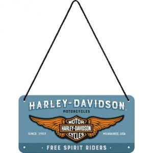28023 Harley-Davidson - Logo Blue