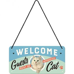 28027 Welcome Guests Cat