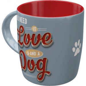 Tazza in ceramica PfotenSchild - Love Dog