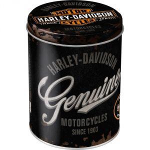 Scatola Rotonda Harley Davidson