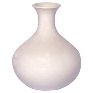 Vasetto ceramica bianco