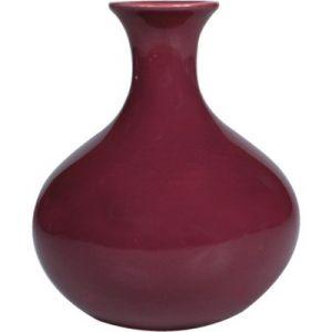 Vasetto ceramica rosa antico