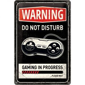 Warning do not disturb - gaming in progress