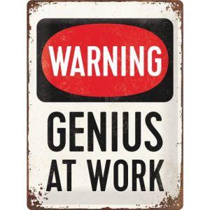 23229 Warning - Genius at work