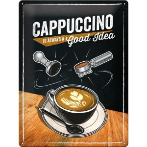 Cappuccino is always a good idea