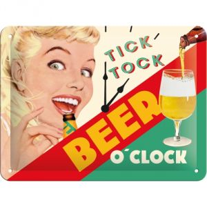 Tick Tock - beer o'clock