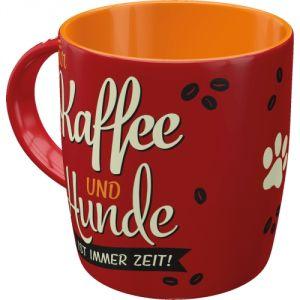 Tazza in ceramica PfotenSchild - Fur Kaffe und Hunde (TAZZA SCRITTA IN TEDESCO)