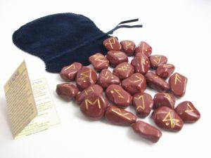 rune diaspro rosso
