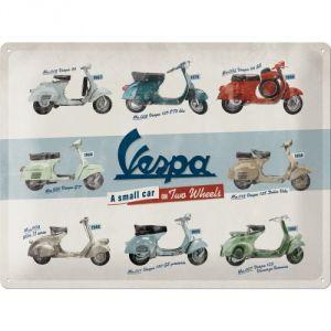 23258 Vespa - Model Chart
