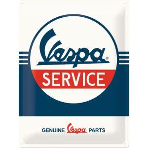Cartello Vespa - Service