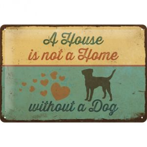 22269 A house is not a home without a dog