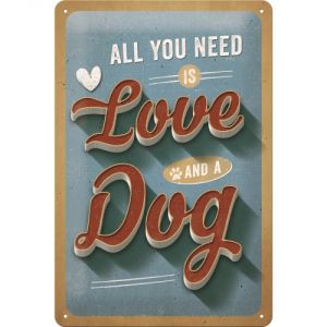22273 All you need is love and a dog