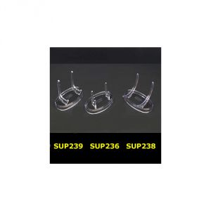 SUP236 - Supporti in plastica base ovale
