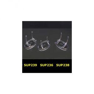 SUP238 - Supporti in plastica base ovale