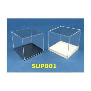 SUP001 - Scatoline in plastica, base bianca o nera