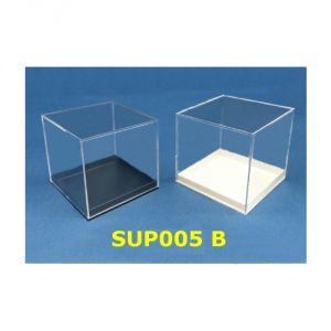 SUP005B - Scatoline in plastica, base bianca o nera
