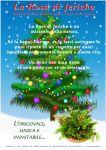 Cartello A4 Rosa di Jericho Natale