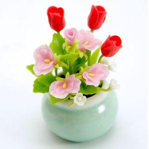 Fiori Ariete: Tulipano rosso e Pisello odoroso