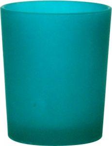 B7110 - photophore in vetro satinato azzurro