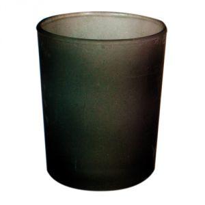 B7124 - photophore in vetro satinato antracite