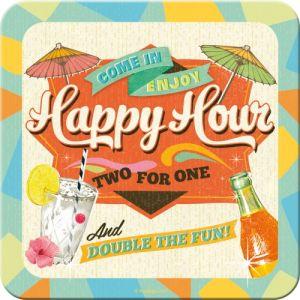 Sottobicchiere Happy hour